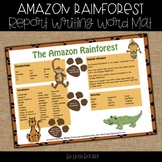 Amazon Rainforest Report writing help mat