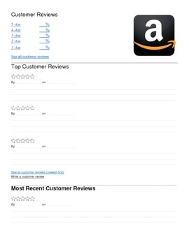 Amazon Review Template