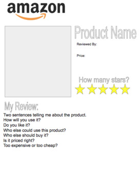 Amazon Technology Review with Google Slides