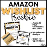 Amazon Wish List Cards