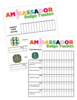 Ambassador Girl Scout Troop Badge Requirement Tracker [.doc]