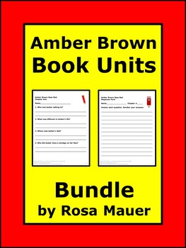 Amber Brown Bundle of Book Units