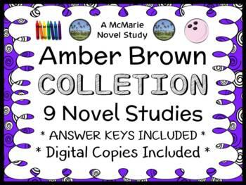 Amber Brown Collection (Paula Danziger) 9 Novel Studies / Comprehension