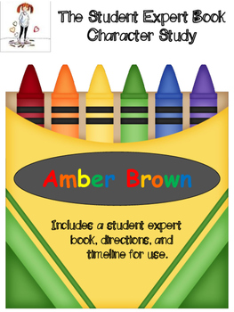 Amber Brown Expert Book (Character Study)