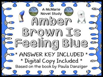 Amber Brown Is Feeling Blue (Paula Danziger) Novel Study / Reading Comprehension