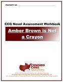 Amber Brown Is Not A Crayon CCQ Novel Study Assessment Wor