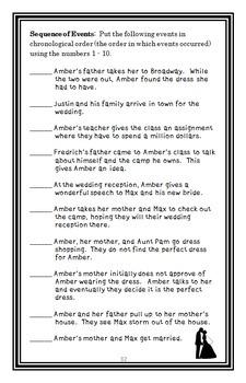Amber Brown Is Tickled Pink Novel Study / Reading Comprehension Unit