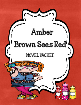 Amber Brown Sees Red Novel Study Unit