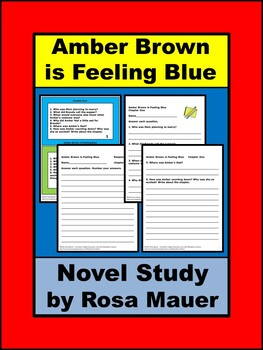Amber Brown is Feeling Blue Book Unit