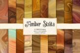 Amber Strata Digital Paper