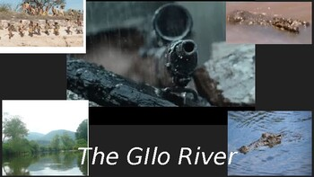 Ambient Sounds creating mood in A Long Walk to Water (Gilo River)
