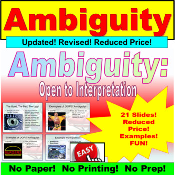 Ambiguity PowerPoint