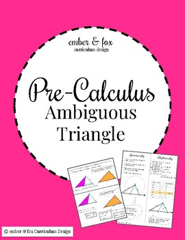 Ambiguous Case 2 Solutions