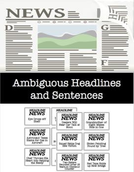 Ambiguous Headlines and Sentences