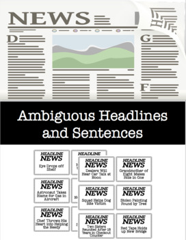 Ambiguous Headlines and Sentences