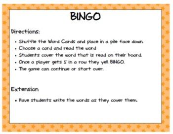 Ambiguous Vowel BINGO Bundle OI,OY,OR,ORE,OUR,AR,AIR,ARE,AU,AW,OU OW & more