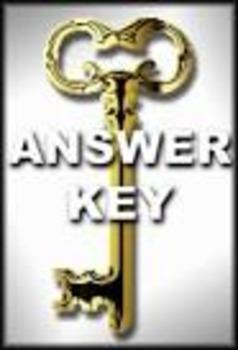 "Ambrose Bierce: ""An Occurrence at Owl Creek Bridge"" Questions Key"