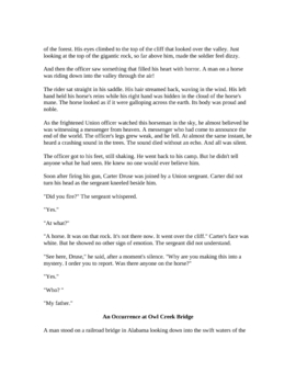 Ambrose Bierce - Three Easy Reading Stories