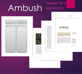 Ambush by Tim Obrien -  Text, Graphic Organizer, for Chara