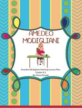 Amedeo Modigliani Portrait Painting Lesson Plan