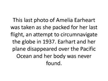 Ameila Earhart Starter