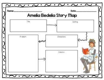 Amelia Bedelia Story Map