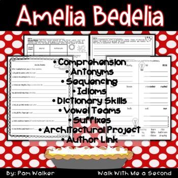 Amelia Bedelia A Book Companion for Comprehension