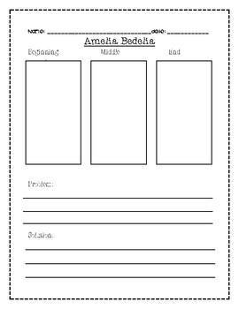 Amelia Bedelia Activities