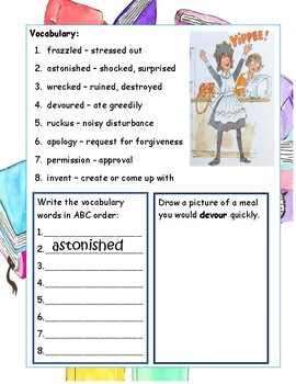 Amelia Bedelia, Bookworm by Parish, ELA Primary Novel Reading Study Guide