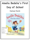 Amelia Bedelia's First Day of School Novel Study for Prima