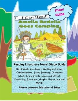 Amelia Bedelia Goes Camping by Peggy Parish Reading Novel ...