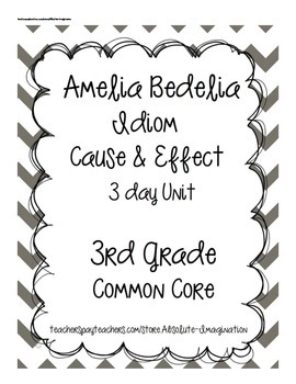 Amelia Bedelia Idiom 3 Day Christmas Book Unit