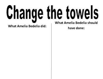 Amelia Bedelia Idiom Posters