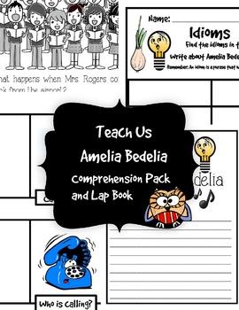 Amelia Bedelia Lap Book