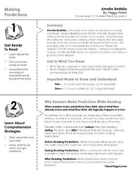 Amelia Bedelia Lesson Plans & Activities Package, Second Grade (CCSS)
