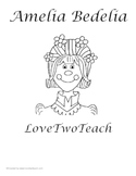 Amelia Bedelia Literacy and Math Fun