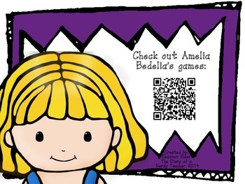 Amelia Bedelia QR Readers for Listen to Reading