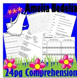 Amelia Bedelia Reading Comprehension Idioms Book Companion Packet LINED PAPER