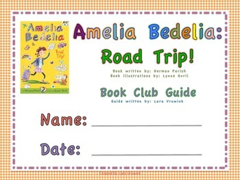 Amelia Bedelia: Road Trip Book Club Guide