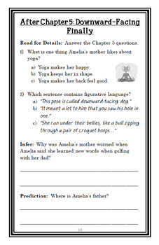 Amelia Bedelia Shapes Up (Herman Parish) Novel Study / Reading Comprehension