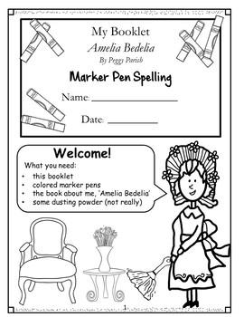 Amelia Bedelia Spelling Booklet US Version