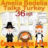 Amelia Bedelia Talks Turkey Thanksgiving Comprehension Boo