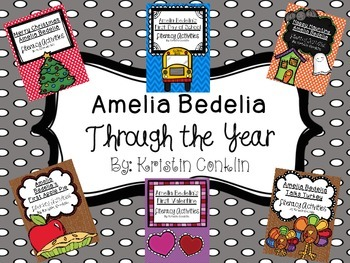 Amelia Bedelia Throughout the Year