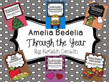 Amelia Bedelia Throughout the Year