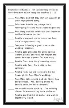 Amelia Bedelia Ties the Knot (Parish) Novel Study / Comprehension (31 pages)