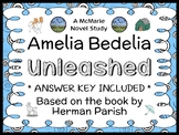 Amelia Bedelia Unleashed (Herman Parish) Novel Study / Comprehension