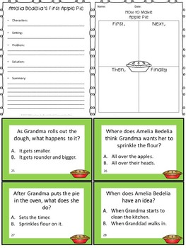 Amelia Bedelia's First Apple Pie Book Unit