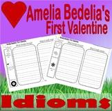 Amelia Bedelia's First Valentine : Idioms Worksheets
