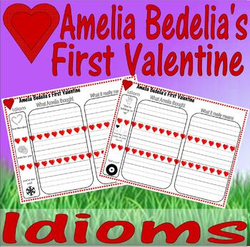 Amelia Bedelia's First Valentine : Idioms Worksheets