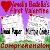 Amelia Bedelia's First Valentine Reading Comprehension Multiple Choice Questions